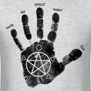hand of creation black.png T-Shirts - Men's T-Shirt