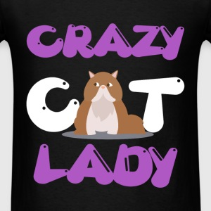 Cat lady - Crazy cat lady - Men's T-Shirt