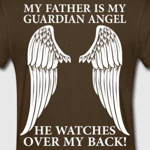 My Father Is My Guardian Angel T-Shirts - Women's T-Shirt