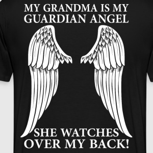 My Grandma Is My Guardian Angel T-Shirts - Men's Premium T-Shirt