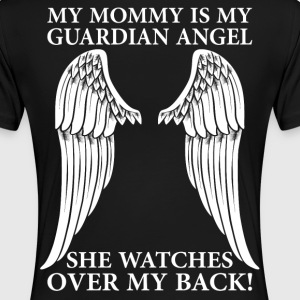 My Mommy Is My Guardian Angel T-Shirts - Women's Premium T-Shirt