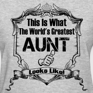 This Is What The World 's Aunt Looks Like T-Shirts - Women's T-Shirt