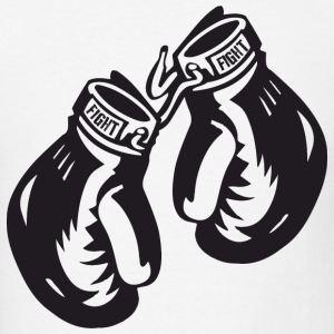 Boxing Gloves T-Shirts - Men's T-Shirt