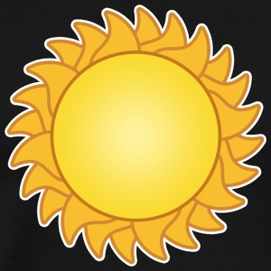 sun sol sunset sundown sunbeams sunshine sunflower - Men's Premium T-Shirt