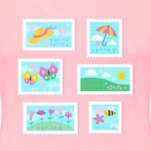 Spring Stamp Collection T-Shirts - Women's Premium T-Shirt