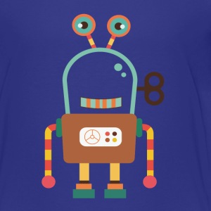 Cute Robot Toy Kids' Shirts - Kids' Premium T-Shirt