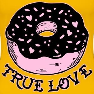 True Love Donut - Women's Premium T-Shirt