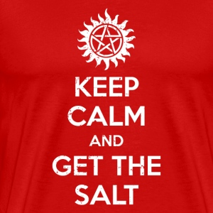 Keep calm and get the salt - Men's Premium T-Shirt