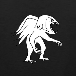 Monster Bird Drawing - Men's Premium Tank