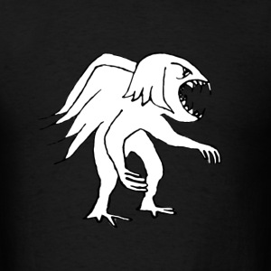 Monster Bird Drawing - Men's T-Shirt