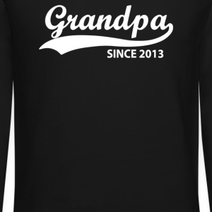 Grandpa Since 2013 - Crewneck Sweatshirt