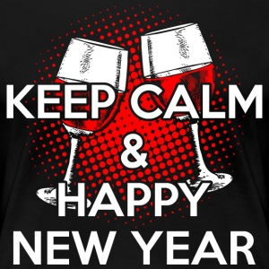 Keep Calm Happy New Year T-Shirts - Women's Premium T-Shirt