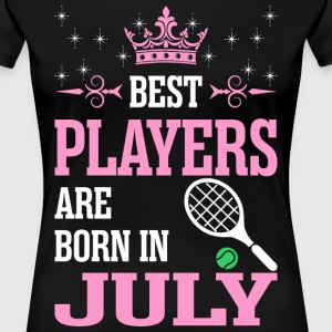 Best Players Are Born In July T-Shirts - Women's Premium T-Shirt