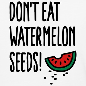 Don't eat watermelon seeds T-Shirts - Baseball T-Shirt