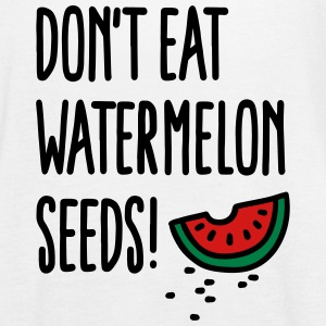 Don't eat watermelon seeds Tanks - Women's Flowy Tank Top by Bella