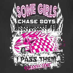 Some Girls Chase Boys Aprons - Adjustable Apron