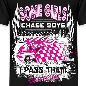 Some Girls Chase Boys Baby & Toddler Shirts - Toddler Premium T-Shirt