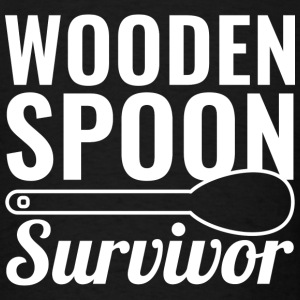 Wooden Spoon Survivor - Men's T-Shirt