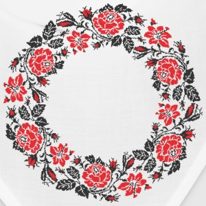 Red flower ring - Bandana
