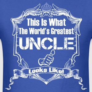 Worlds Greatest Uncle Looks Like T-Shirts - Men's T-Shirt