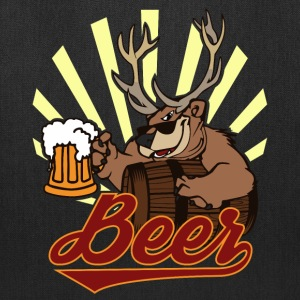 Bear Deer Beer Bags & backpacks - Tote Bag
