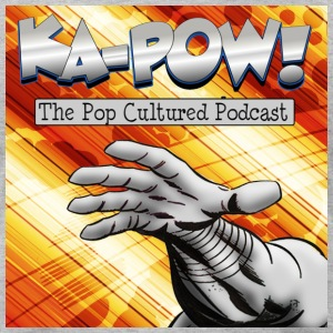 Ka-Pow! The Pop Cultured Podcast - Men's T-Shirt by American Apparel