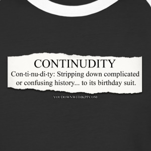 Continudity - Baseball T-Shirt