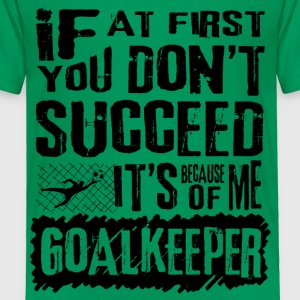 Soccer Goalkeeper Baby & Toddler Shirts - Toddler Premium T-Shirt