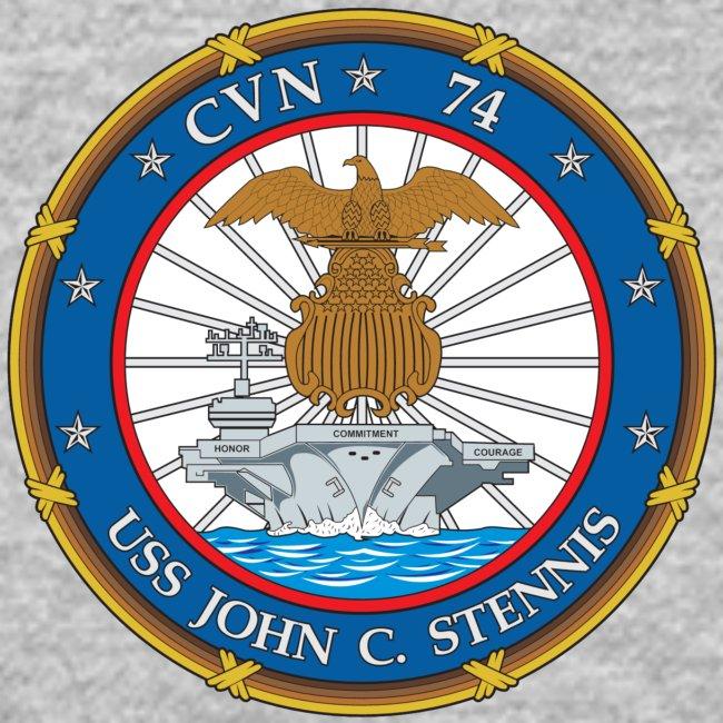 USS JOHN C STENNIS CUSTOM ORDER  SWEATSHIRT  - ESWS