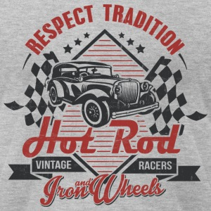 Hot Rod Vintage racers T-Shirts - Men's T-Shirt by American Apparel
