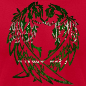 SAUDI ARABIA WOLF LOVE T-Shirts - Men's T-Shirt by American Apparel