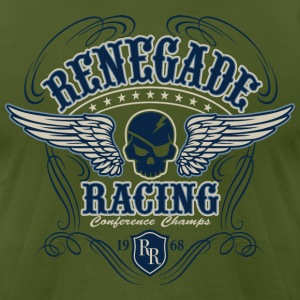 Renegade Racing - Men's T-Shirt by American Apparel