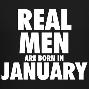 Real men are born in January Long Sleeve Shirts - Crewneck Sweatshirt