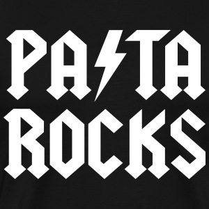 pasta rocks T-Shirts - Men's Premium T-Shirt