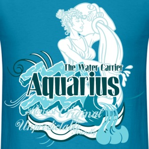 Aquarius The Water Bearer T-Shirts - Men's T-Shirt
