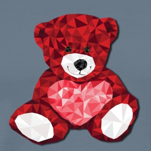 A Heart Full of Love Bear - Men's Premium T-Shirt