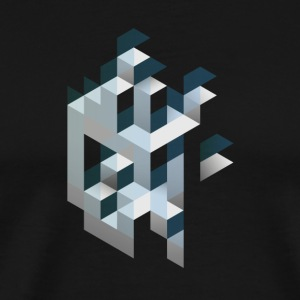 ABSTRACT CUBE - Men's Premium T-Shirt