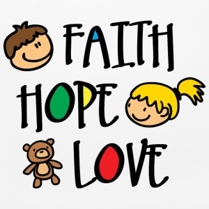 Faith Hope and Love Other - Mouse pad Horizontal