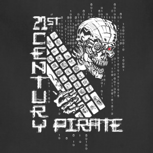 21 Century Pirate Hacker Aprons - Adjustable Apron