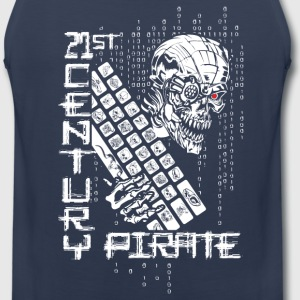 21 Century Pirate Hacker Sportswear - Men's Premium Tank