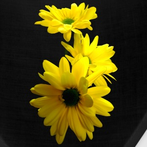 Three Bright Yellow Daisies Caps - Bandana