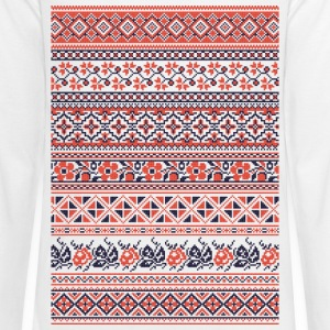 Collection cross-stitch pattern - Kids' Premium Long Sleeve T-Shirt