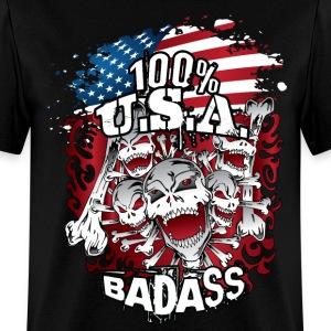 100 USA Skulls Bones