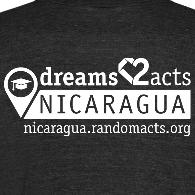 Dreams to Acts Campus Illustration T-Shirt (Black)