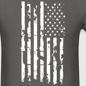 USA flag t shirt  - Men's T-Shirt