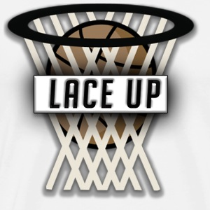 Lace up ( Youtube Slogan) T-Shirts - Men's Premium T-Shirt