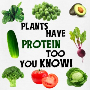 PLANTS HAVE PROTEIN TOO - Kids' T-Shirt