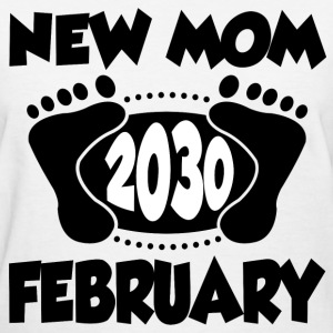 FEB MOM 2030 1.png T-Shirts - Women's T-Shirt