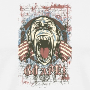Ape in cage - Men's Premium T-Shirt