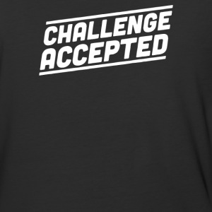 challenge accepted - Baseball T-Shirt